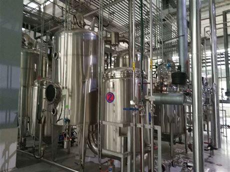 二手3吨4效降膜蒸发器