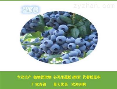 蓝莓膳食纤维 蓝莓浓缩汁