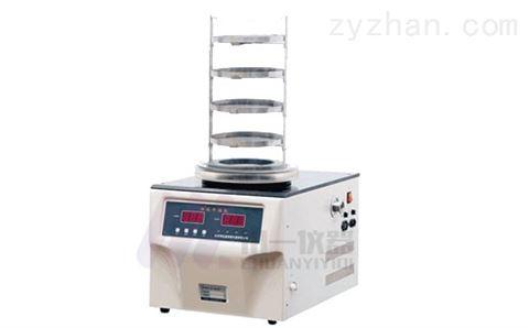 土壤真空冷冻干燥机FD-1C-50挂瓶型冻干机