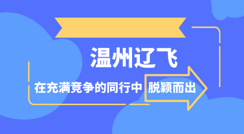 温州辽飞在充满竞争的同行中脱颖而出