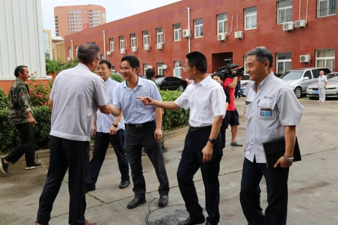 热烈欢迎市总工会领导莅临东华原医疗参观考察